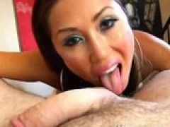 Schwanzhungriges Blowjob Girl